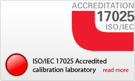 ISO/IEC 17025 Accredited calibration laboratory